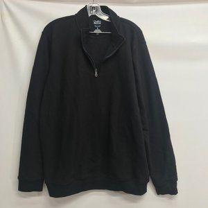 Mens Croft & Barrow Sweatshirt Black XL
